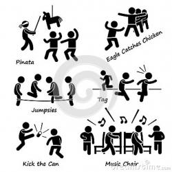 Music Notes clipart musical chair