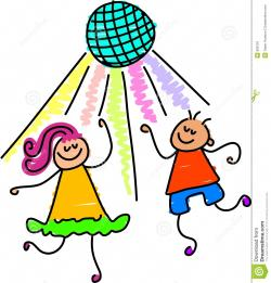 Disco clipart kids disco