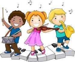 Mural clipart kids activity