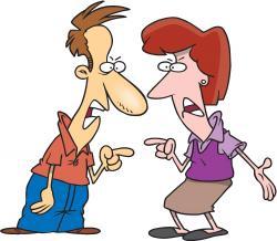 Fight clipart quarrel