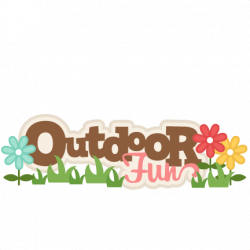 Fun clipart outdoor fun