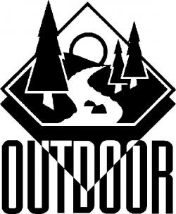 Outdoor clipart black and white