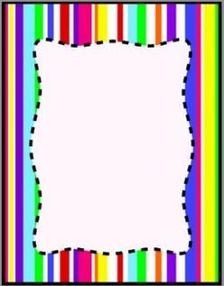 Stripe clipart border
