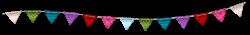Triangle clipart streamer