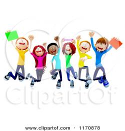 Fun clipart student having fun
