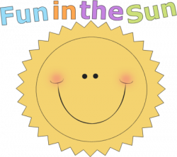 Fun clipart sunshine