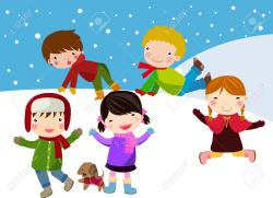 Fun clipart the snow clipart
