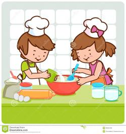 Kitchen clipart kid kitchen