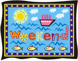 Fun clipart weekend