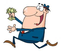 Cash clipart funny money
