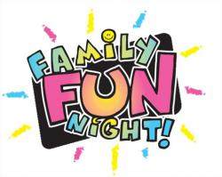 Fun Time clipart family fun night