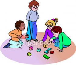 Fun Time clipart group child
