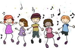 Fun Time clipart group singing