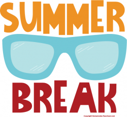 Fun clipart summer break