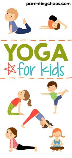 Moves clipart kids yoga