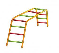 Playground clipart ladder