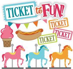 Carousel clipart county fair