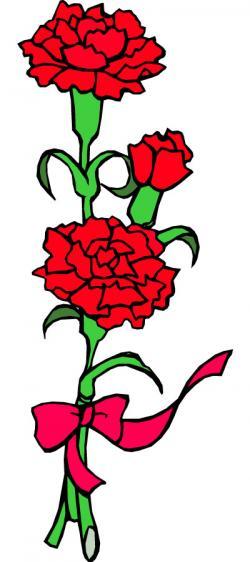 Carnation clipart sympathy