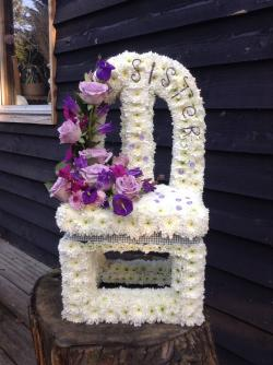 Funeral clipart floral arch