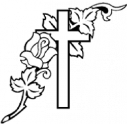 Funeral clipart funeral cross
