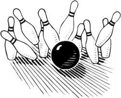 Alley clipart free bowling
