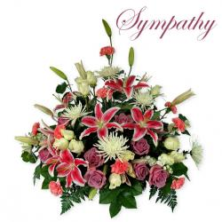 Funeral clipart sympathy flower