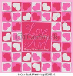 Funky clipart valentines day heart