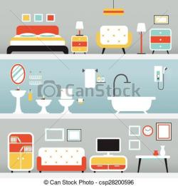 Living Room clipart furniture store