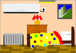 Library clipart childrens room