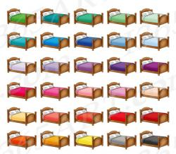 Furniture clipart bed sheet
