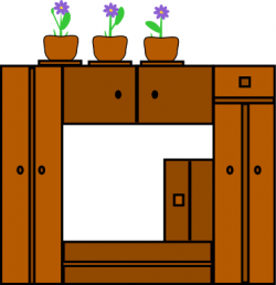 Furniture clipart bedroom cabinet