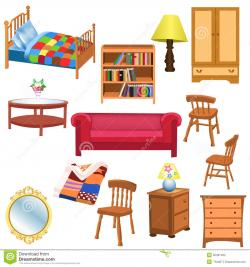Furniture clipart bedroom furniture