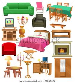 Furniture clipart bedroom item