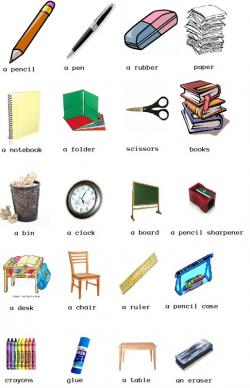 Pen clipart classroom item