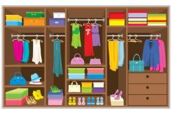 Furniture clipart closet