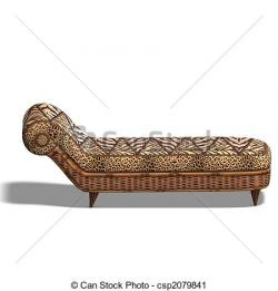 Furniture clipart comfy bed