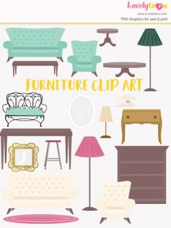 Furniture clipart decorator