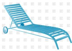 Deck clipart pool chair