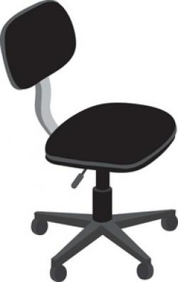 Furniture clipart desk chair