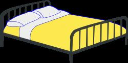 Pen clipart bed