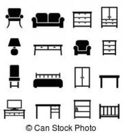 Furniture clipart home decor