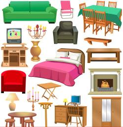 Furniture clipart home furniture