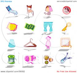 Furniture clipart household material