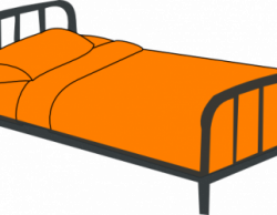 Furniture clipart kid bed