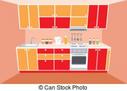 Illustration clipart kitchen