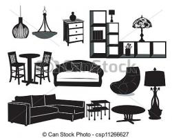 Living Room clipart couch