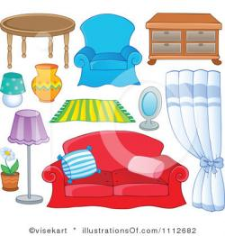 Furniture clipart living room