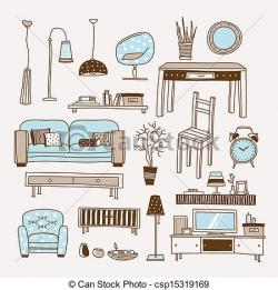 Furniture clipart living thing