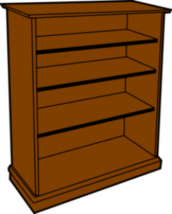 Bookcase clipart wooden furniture