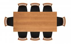 Furniture clipart table top